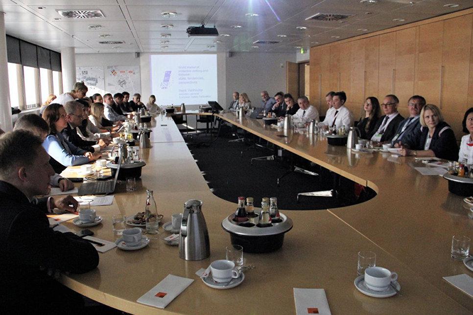 Круглый стол в рамках  Международной выставки охраны труда А+А
