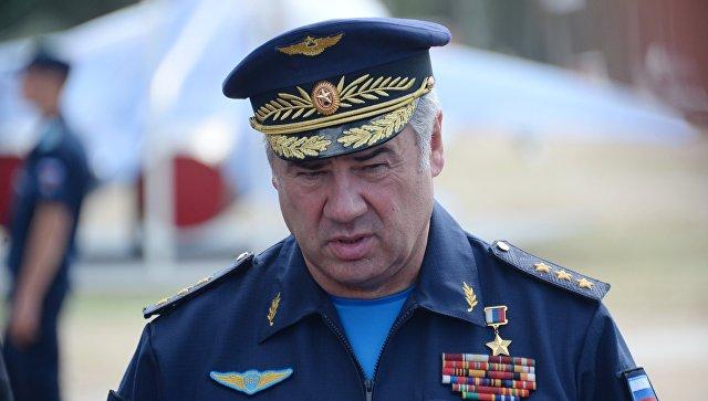 Главнокомандующий Военно-воздушными силами РФ генерал-полковник Виктор Бондарев