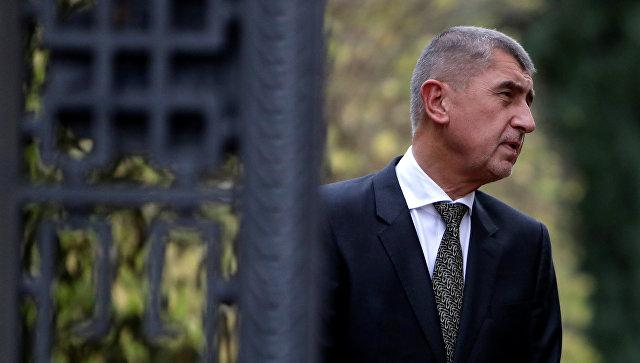 Лидер движения ANO Андрей Бабиш. 23 октября 2017