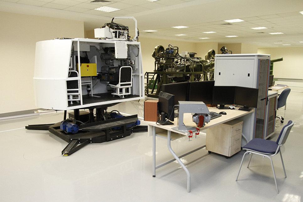 Тренажер T-90 и комплексный тактический тренажера Рубеж.