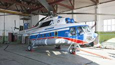 Вертолет Ми-8, потерпевший крушение на Шпицбергене