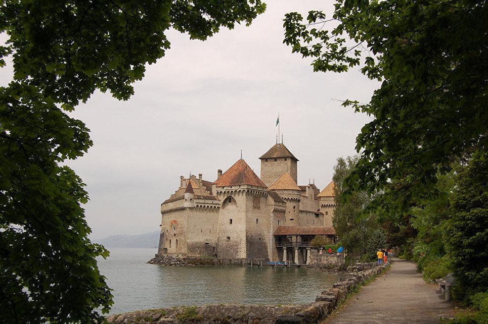 Шильонский замок, Швейцария