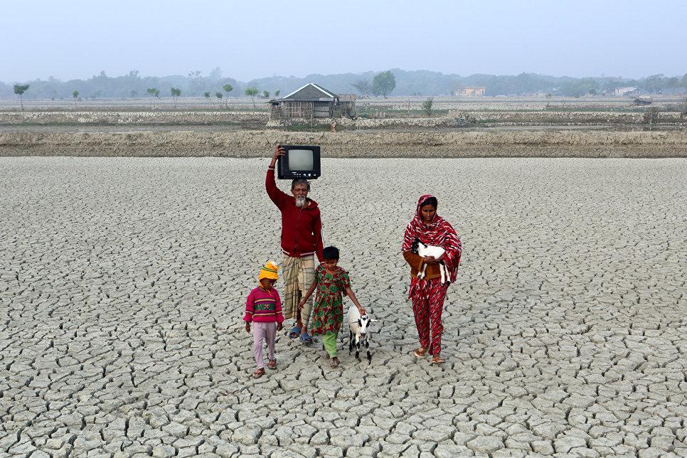 Pronob Ghosh. Drought of Bangladesh