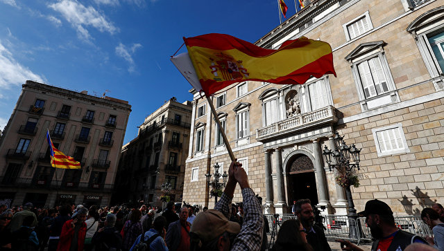 Парламент Каталонии прекратил работу