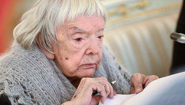 Председатель Московской Хельсинкской группы Людмила Алексеева на заседании СПЧ. 30 октября 2017