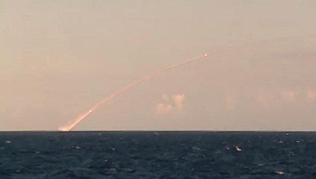 Запуск крылатой ракеты. Архивное фото