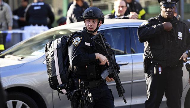 Полицейские в Нью-Йорке. Архивное фото
