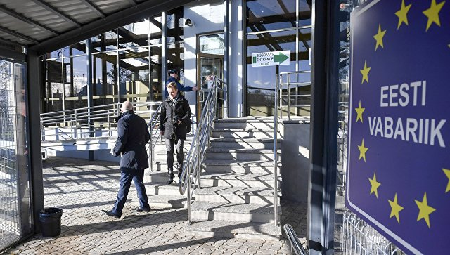 Пешеходный пограничный пункт между Эстонией иРФ открыли после реконструкции