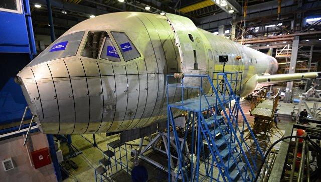 Окончено строительство 2-го магистрального самолета МС-21