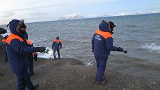 Спасатели продолжают поисковую операцию в районе крушения вертолёта Ми-8 у Шпицбергена. 3 ноября 2017