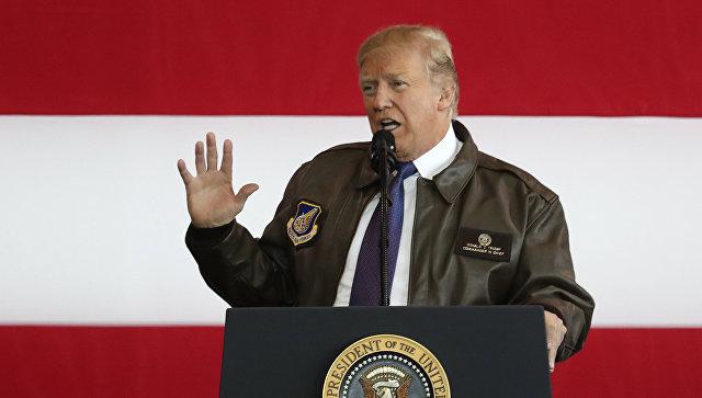 Трамп призвал КНДР сесть застол переговоров