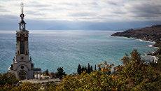 Храм-маяк святителя Николая Чудотворца в Крыму. Архивное фото
