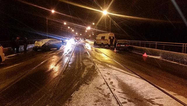 ВНовокузнецке вДТП сучастием «скорой помощи» пострадали 5 человек