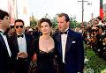Актеры Брюс Уиллис и Деми Мур на красной дорожке 61-й церемонии вручения премии Оскар. 1989