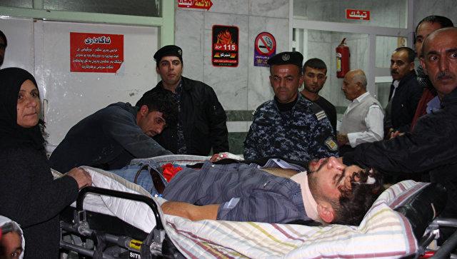 Пострадавшие в больнице после землетрясения в Иране. Архивное фото