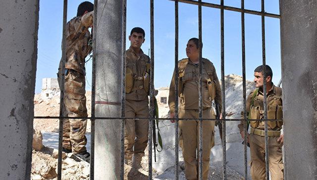 Бойцы отряда народной самообороны в Сирии. Архивное фото
