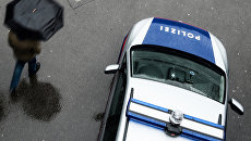 Автомобиль австрийской полиции. Архивное фото