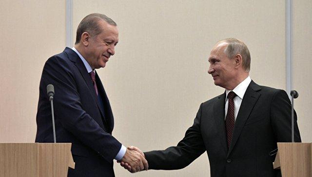 Песков рассказал, что Путин и Эрдоган будут обсуждать на встрече