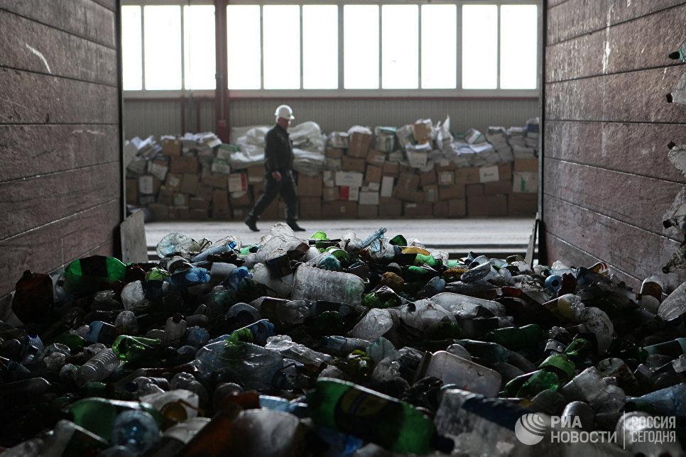 Работа мусороперерабатывающего завода в Сочи. Архивное фото