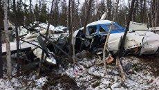 Крушение самолета L-410 в Хабаровском крае. Архивное фото