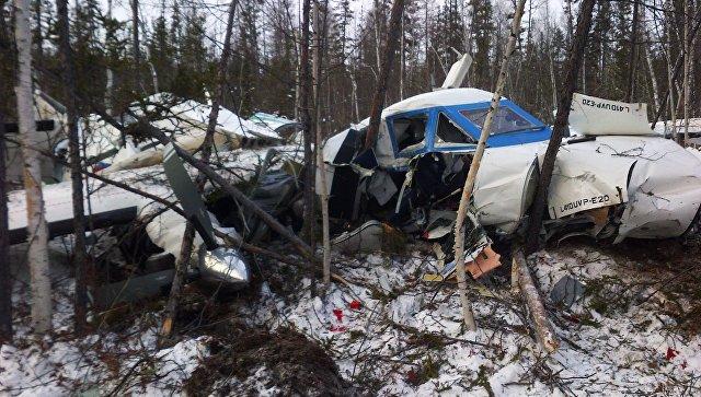 Крушение самолета L-410 в Хабаровском крае