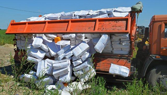 В Приморье уничтожили 1,2 тонны санкционной минеолы  из Испании
