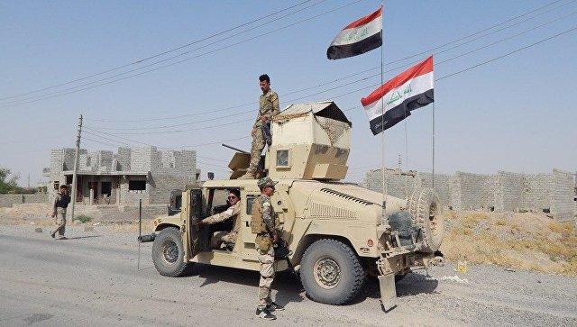 На границе Ирака и Сирии. Архивное фото