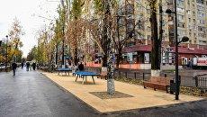 Благоустройство бульвара на улице Рахова в Саратове