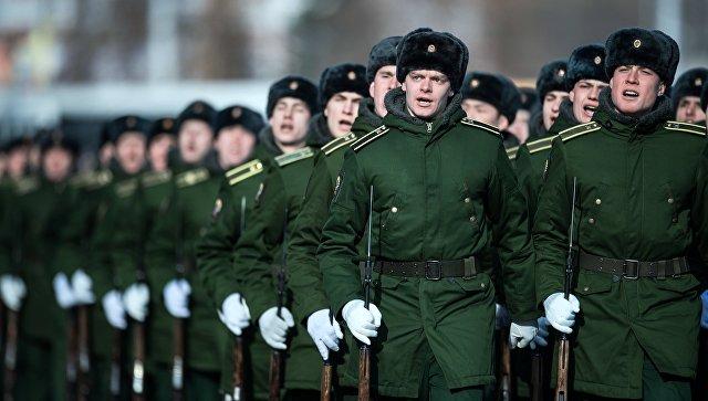 Военнослужащие армии РФ. Архивное  фото.