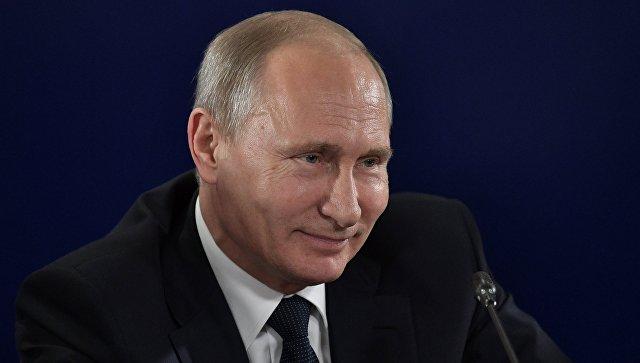 Путин пошутил про плотный график после выборов