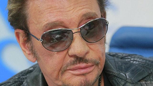 Встолице франции госпитализирован звезда рок-музыки Джонни Холлидей