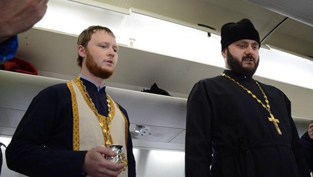Самолет SSJ-100 иркутской авиакомпании назвали именем Сергия Радонежского