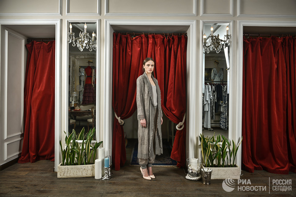 Коллекция Оренбург осень-зима 2013/2014 A LA RUSSE Anastasia Romantsova.