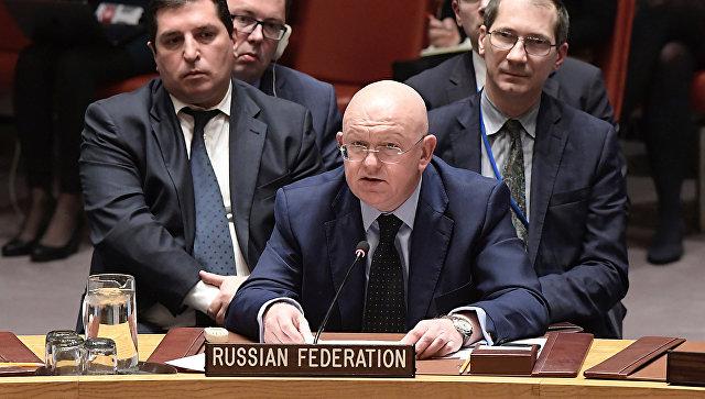Постоянный представитель России при ООН Василий Небензя. Архивное фото
