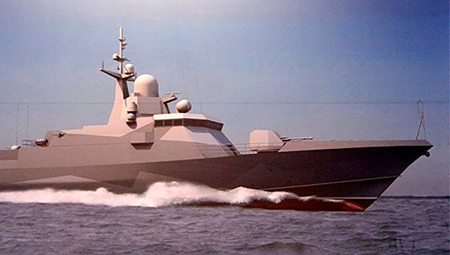 Эскизный проект малого ракетного корабля проекта 22800