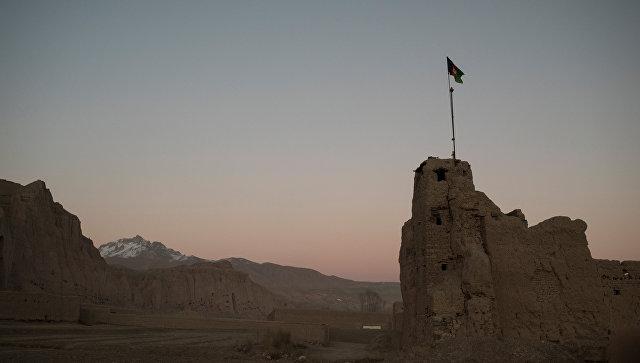 Вид на дома в одном из сел в провинции Бамиан в Афганистане. Архивное фото
