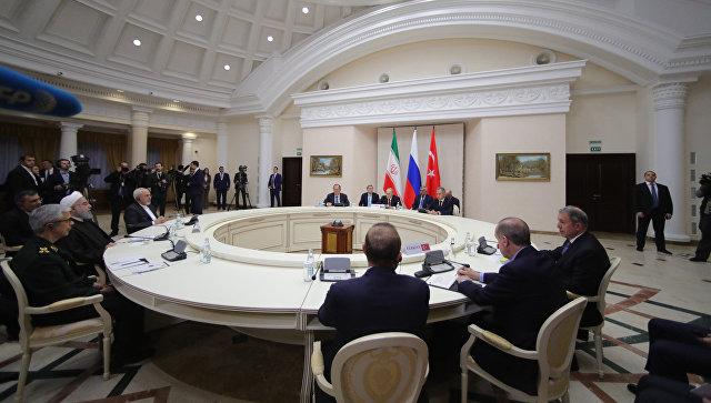 Россия, Иран и Турция договорились сотрудничать по борьбе с терроризмом