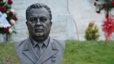 Бюст Андрея Карлова в посольстве России в Анкаре. Архивное фото