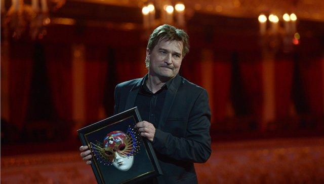 Режиссер Юрий Бутусов на церемонии вручения премии Золотая маска