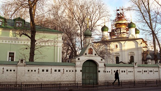 Сретенский мужской монастырь в Москве