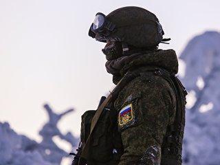 Военнослужащий. Архивное фото