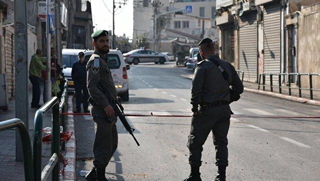 Сотрудники полиции в Израиле. Архивное фото