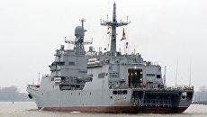 Большой десантный корабль Иван Грен. Архивное фото