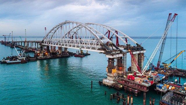 Крымский мост получит автоматическую систему управления движением