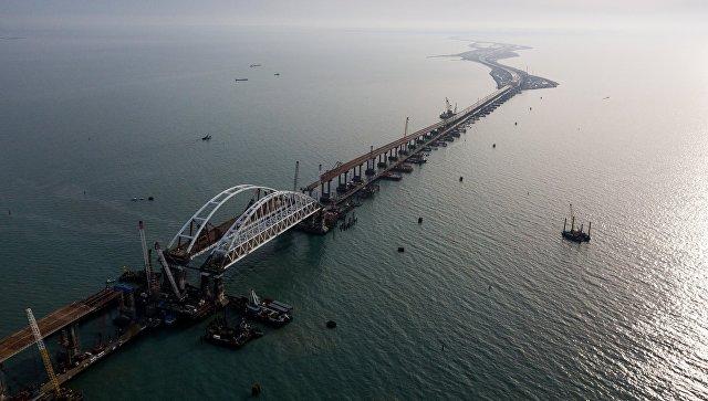 Строительство моста вКрым идет сопережением— Генподрядчик