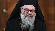 Патриарх Антиохийский и всего Востока Иоанн Х Язиджи. Архивное фото