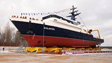 Новейшее океанографическое судно Ильмень проекта 11982