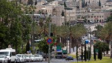 Вид Иерусалима. Архивное фото