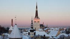 Старый город в Таллине. Архивное фото