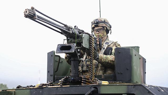 Военнослужащий армии США в Германии. Архивное фото